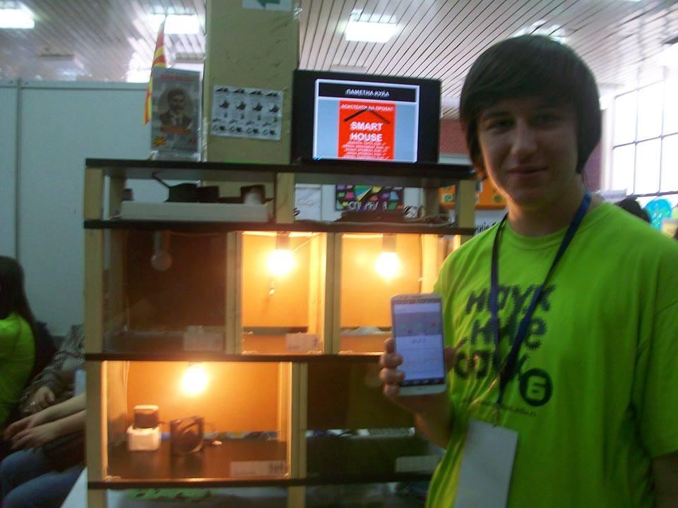 ПАМЕТНА КУЌА: Средношколец од Куманово има генијален пронајдок!