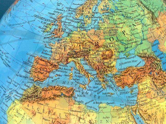 Vo 2035 Ta Evropa So Nova Karta I Granici