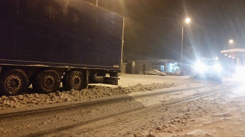 Најнови информации од АМСМ   Кои патишта се блокирани и непроодни