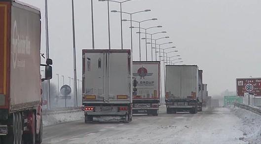 СТОП КАЈ ЕВЗОНИ  10 часа Грција не пушта товарни возила блокирани над 70 камиони
