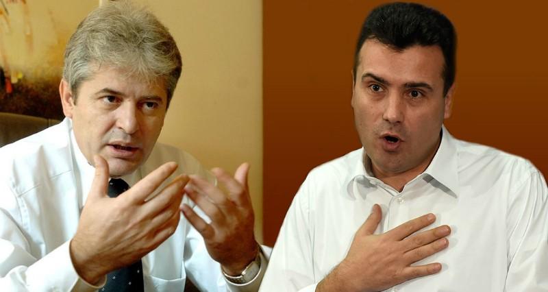 Заев и Ахмети разговарале само за актуелни политички ставови  ќе има нови средби