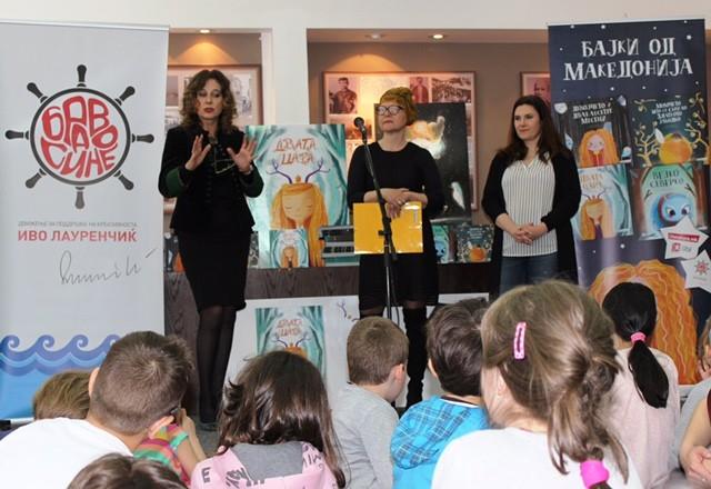 Со читање на приказните од едицијата  Бајки од Македонија  одбележан Светскиот ден на раскажувањето
