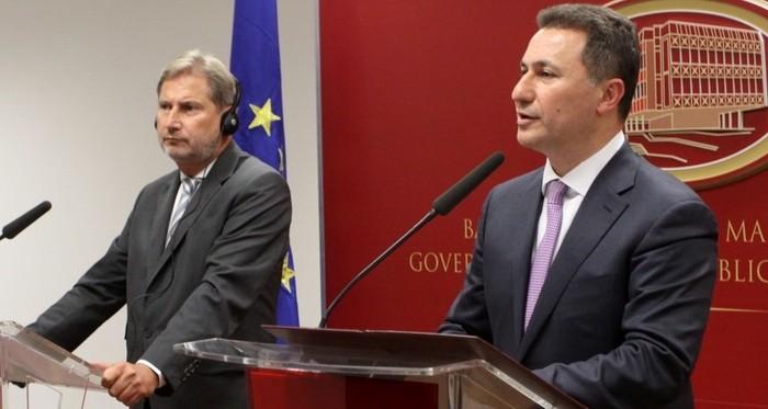 ЕУ ниту ја осудува албанската платформа  ниту ја коментира  контра платформата  на Груевски