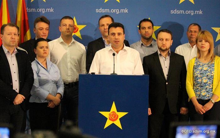СДСМ  Вељаноски и Иванов не смеат да ги штитат криминалните платформи на Груевски
