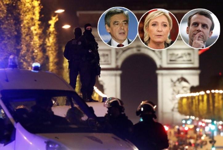 ФРАНЦИЈА ПОД ОПСАДА  Во пресрет на изборите откажани сите претседателски собири Оланд најавува внимание