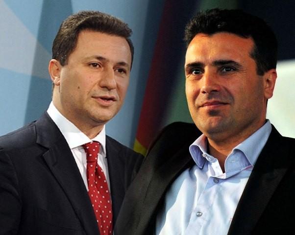 АНКЕТА НА ТЕЛМА  Кој има повисок рејтинг Груевски или Заев