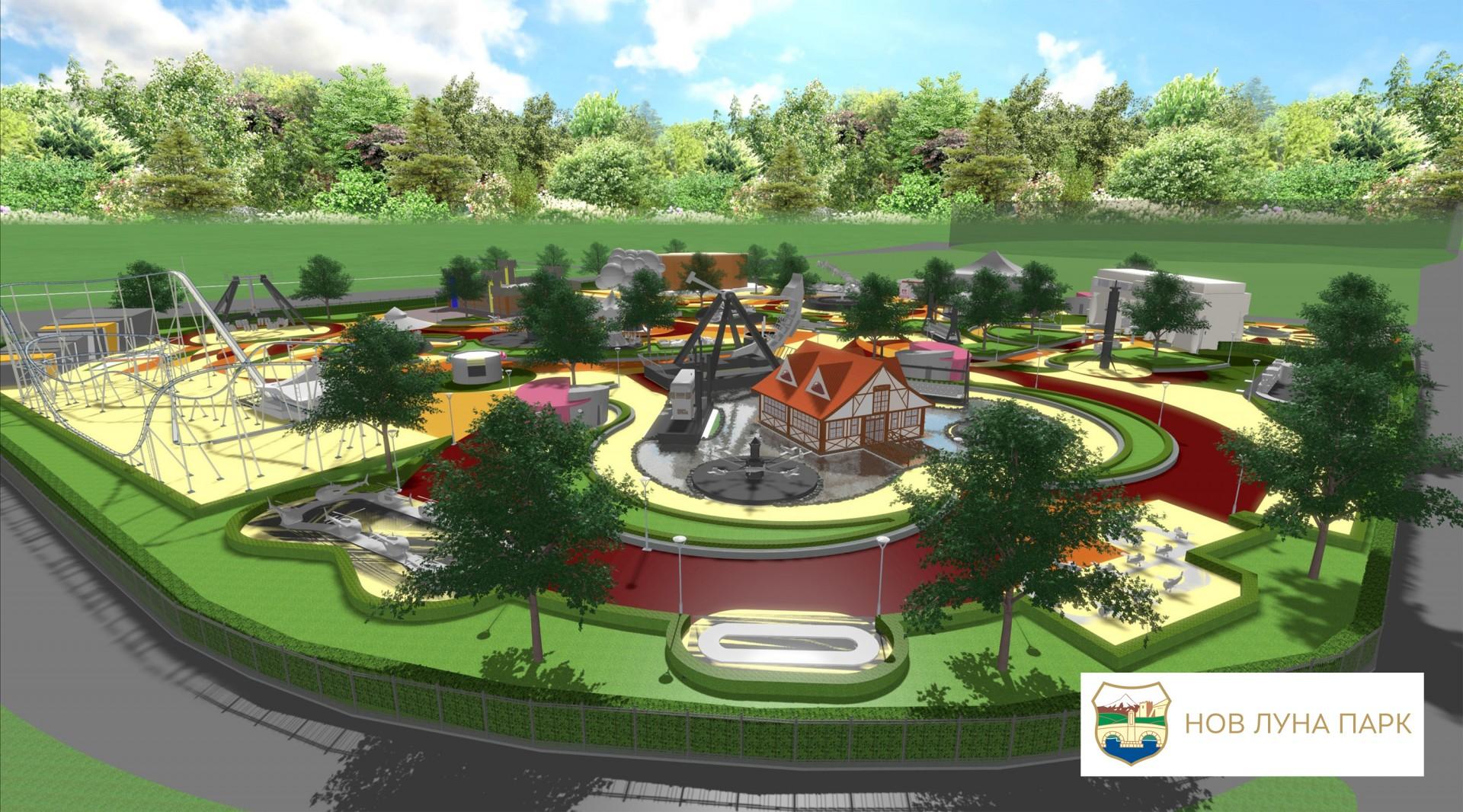 До каде е изградбата на новиот Луна парк во Скопје во кој ќе се вртиме на лулашки за 6 5 милиони евра