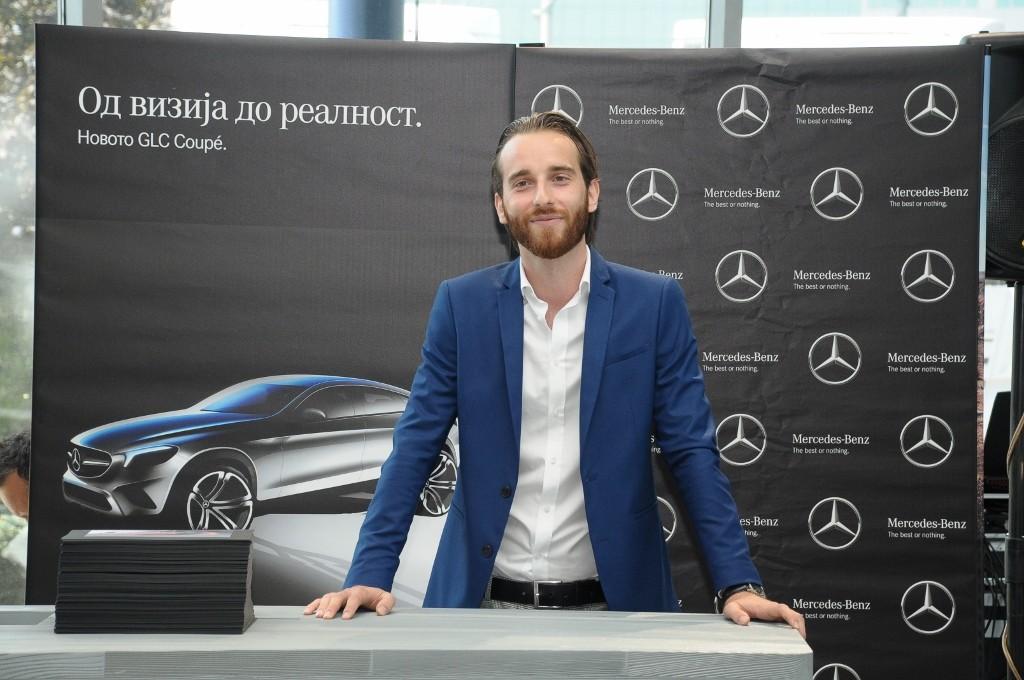 Дизајнерот Таневски на Mercedes Benz   Електровозилото на иднината е секси