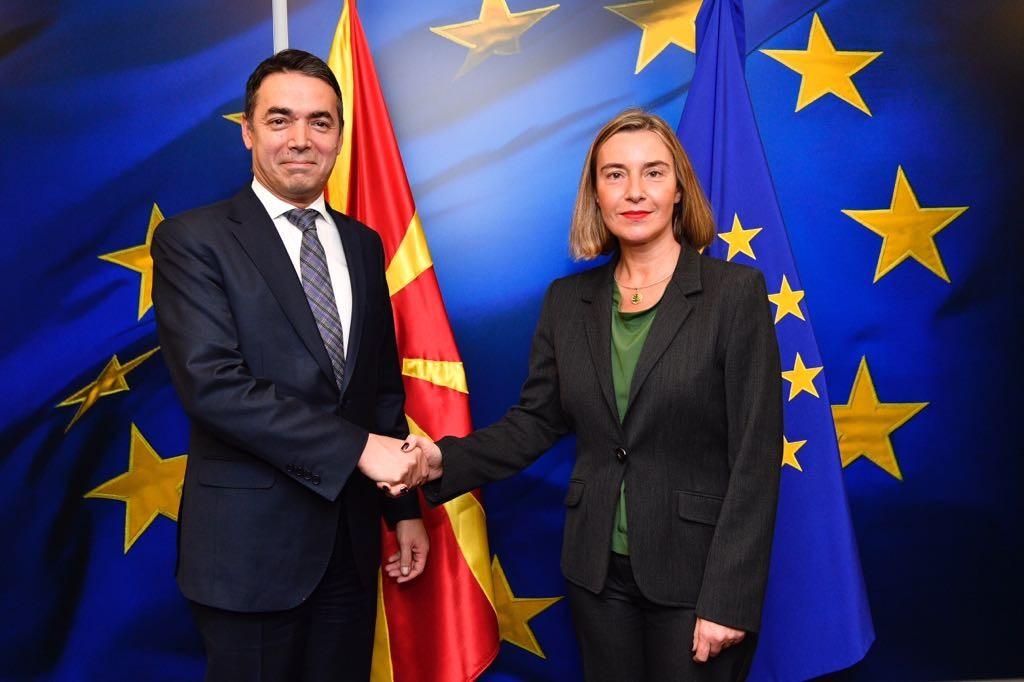 На средбата Димитров Османи Могерини испратени охрабрувачки пораки за нашите европски перспективи