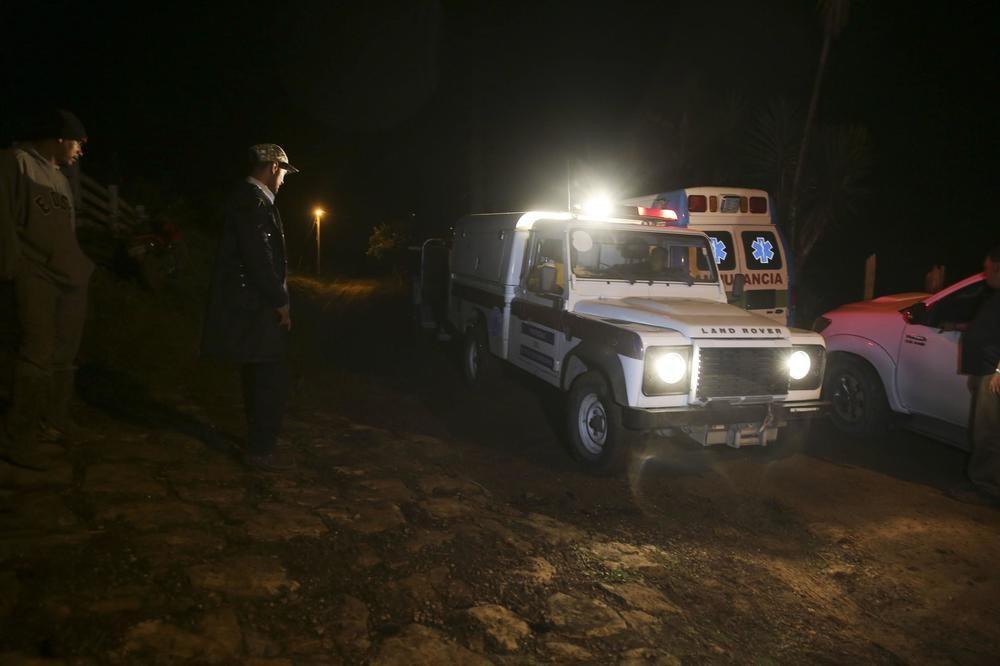 6 МРТВИ ВО ТЕШКА НЕСРЕЌА  Во пад на хеликоптер загина сестрата на претседателот на Хондурас