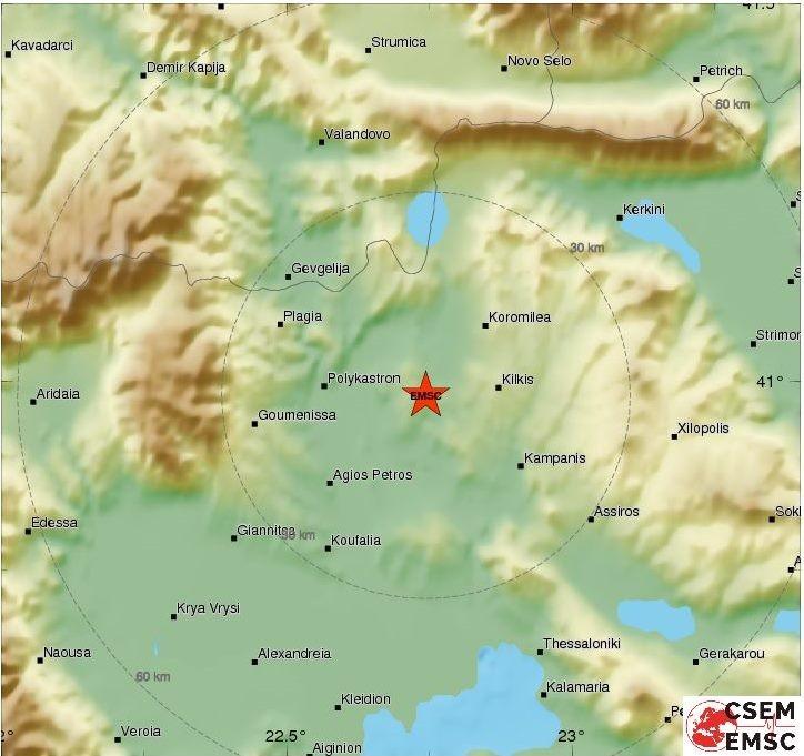 Грчки земјотрес го стресе Дојран