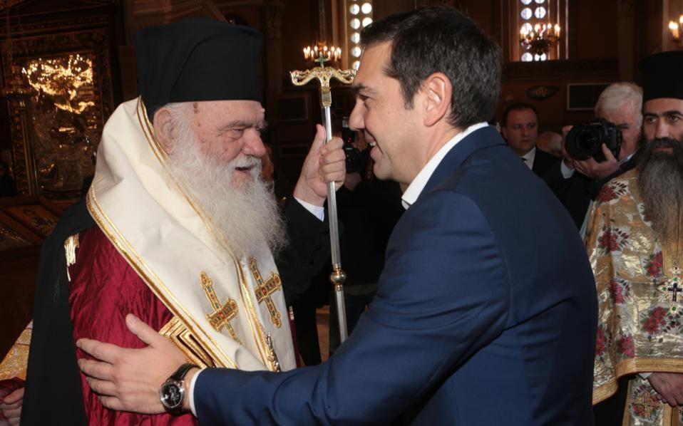 Ципрас ја смирува Грчката црква   Во преговорите ќе ги внесе и црковниот аспект на името