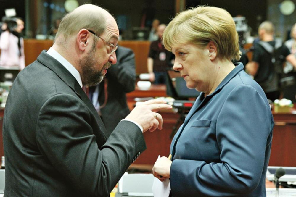 ПО МАРАТОНСКИ РАЗГОВОРИ  Ќе направат ли Меркел и Шулц конечно влада