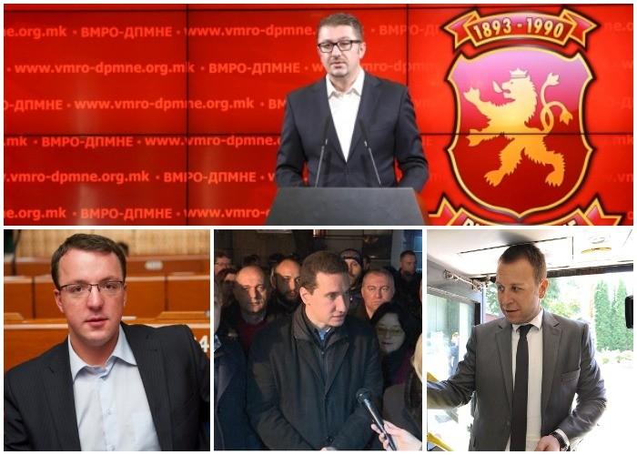 Дали Мицкоски екипираше јаки кадри во новата структура на ВМРО ДПМНЕ