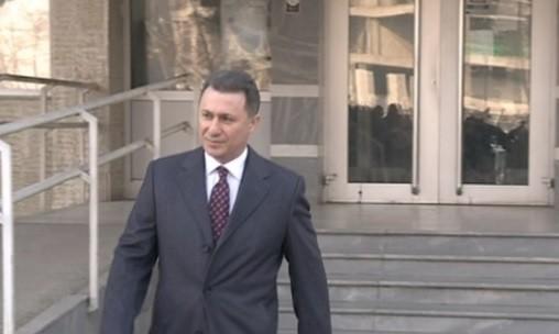 Груевски вели дека во судот може веќе да му се даде канцеларија и плата