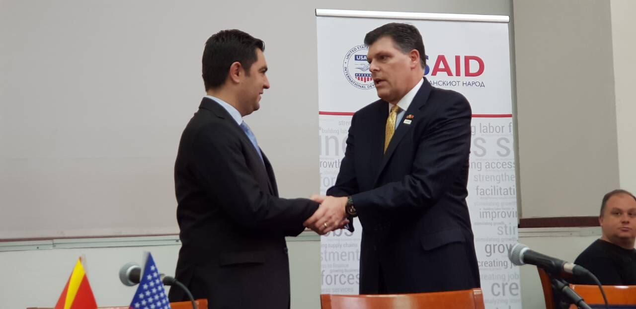 Бектеши  Продолжуваме да ги поттикнуваме компаниите да инвестираат во локален и регионален економски развој