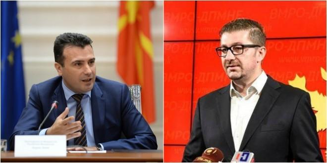 ПО ПОНУДАТА ОД ВМРО ДПМНЕ  Заев смета дека Мицковски со изјавите го копира Груевски