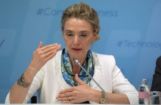 Шефицата на хрватската дипломатија Марија Пејчиновиќ Буриќ во Македонија