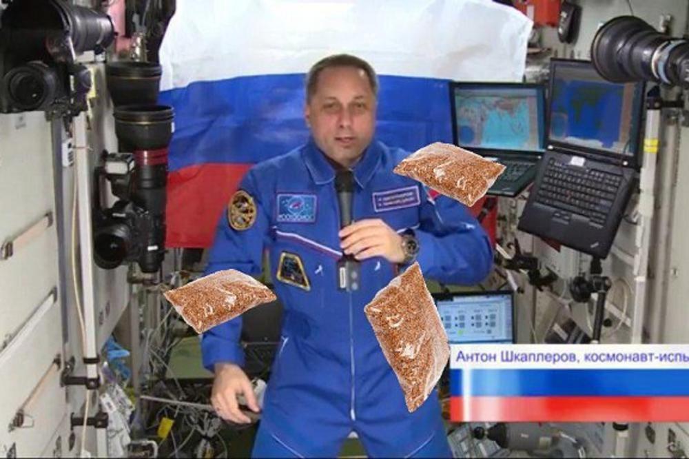 За претседател на Русија се гласаше и од вселената