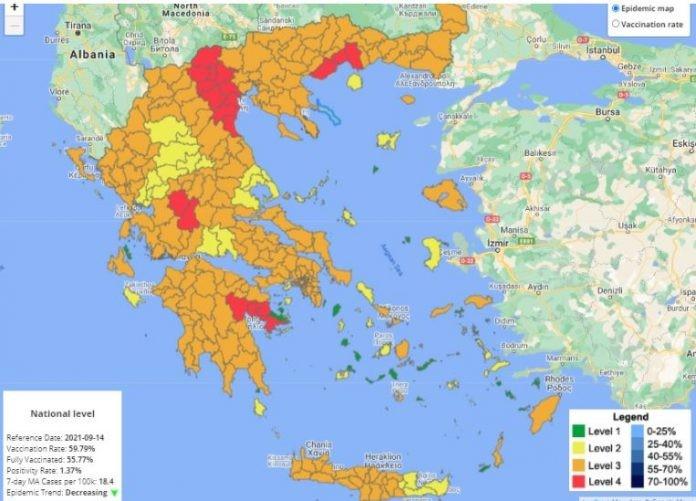 Во повеќе грчки региони се воведува полициски час