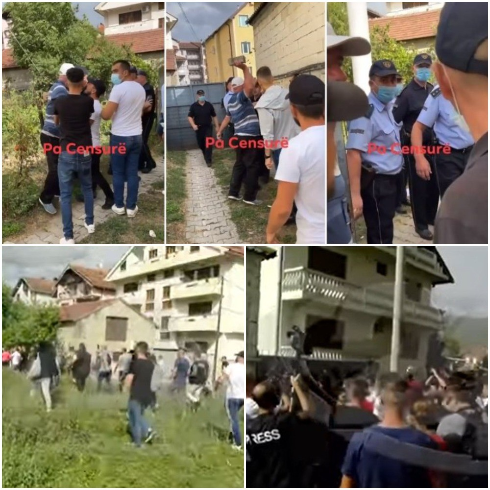 ФАКТОР НА ДЕНОТ: Ескалираше протестот во Тетово, има повредени, но и приведени