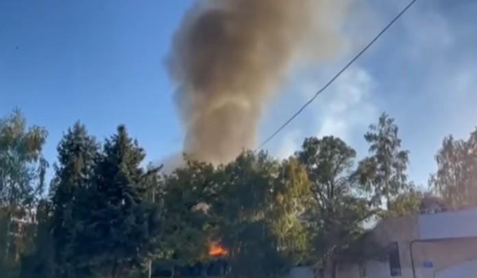 Симоновски за изгорените бараки: Материјалите се лесно запаливи, станува збор за ламперија, преградни ѕидови, шпер плоча